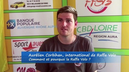 La Raffa Volo en 3 minutes avec Aurélien Corbihan, joueur international français, France Raffa Volo, Feurs 2019