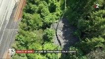 Haute-Savoie : une coulée de boue coupe la ligne Paris-Milan