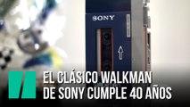 El clásico 'Walkman' de Sony cumple 40 años