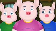 DE TRE SMÅ GRISE - Eventyr på dansk - Three Little Pigs in Danish