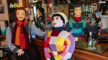 Town Knits Life-Size Queen Elizabeth (Plus, a Whole 'Tight-Knit' Community) Depicting Her Coronation Year