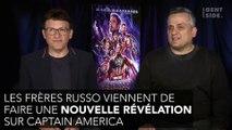 Avengers Endgame : la dernière révélation des frères Russo sur le voyage dans le temps de Captain America