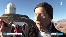 Chili : l'éclipse totale du Soleil a rassemblé un millier d'observateurs