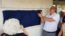 Inauguration du funérarium du Grand Pontarlier par le maire Patrick Genre et la première adjointe Marie-Claude Masson