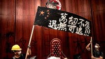 Hong Kong protests: Opinion split on the violence