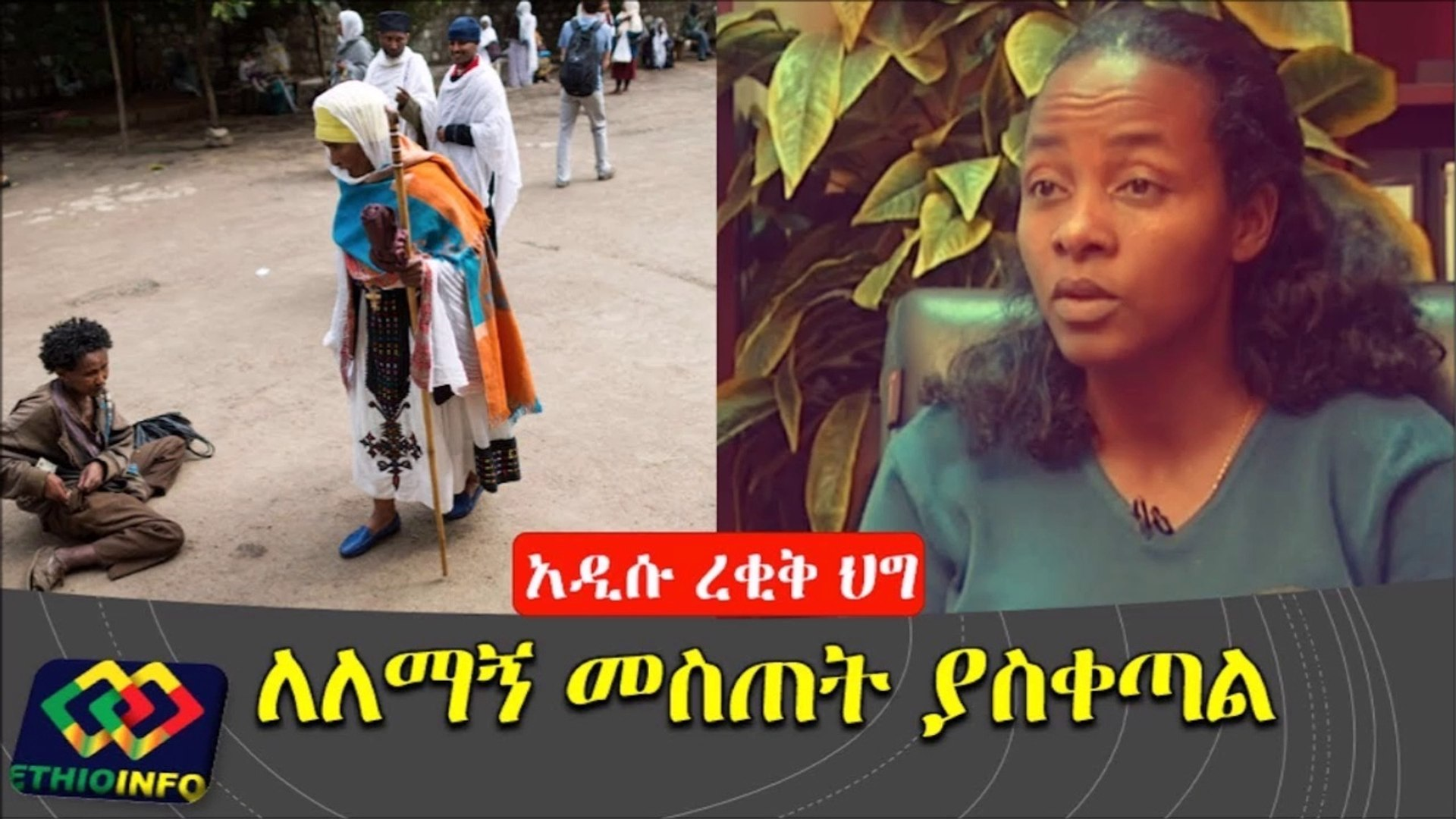 Addis Ababa administration proposes a bill to ban individuals from giving money to beggars