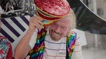 Richard Branson Celebrated Pride in NYC and Announced a New LGBTQ+ Sailing on Virgin Voyages