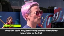 (Subtitled) Rapinoe 'I will be fit for final'