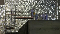 Watch: New structure built to confine Chernobyl reactor