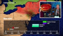 Animated map shows where American accents came from