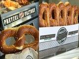 CHEESESTEAK PRETZELS! First Philly Pretzel Factory Opens In Arizona - ABC15 Digital