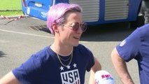 'We never disrespect our opponents' - USA's Rapinoe defends Morgan's 'tea cup' celebration