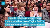 Camila Cabello Shows Support for Taylor Swift in Scooter Braun Feud