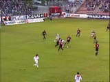 26/08/95 : SRFC-OL : carton rouge Denis (42')