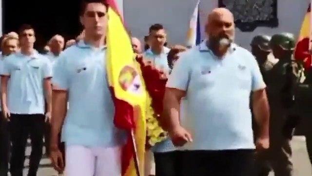 Homenaje a los españoles que defendieron el sitio de El Baler en su 121 aniversario