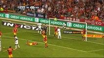 29/08/09 : Asamoah Gyan (90'+2) : Lens - Rennes (2-2)
