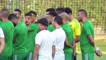Morocco build up to Africa Cup of Nations Round of 16