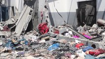 Aftermath of an air strike on Libya migrant centre