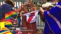 Copa America: Shamans use 'black magic' to see Peru win semi-final