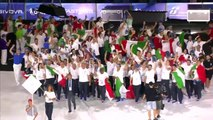 30th Summer Universiade opens in Naples, Italy