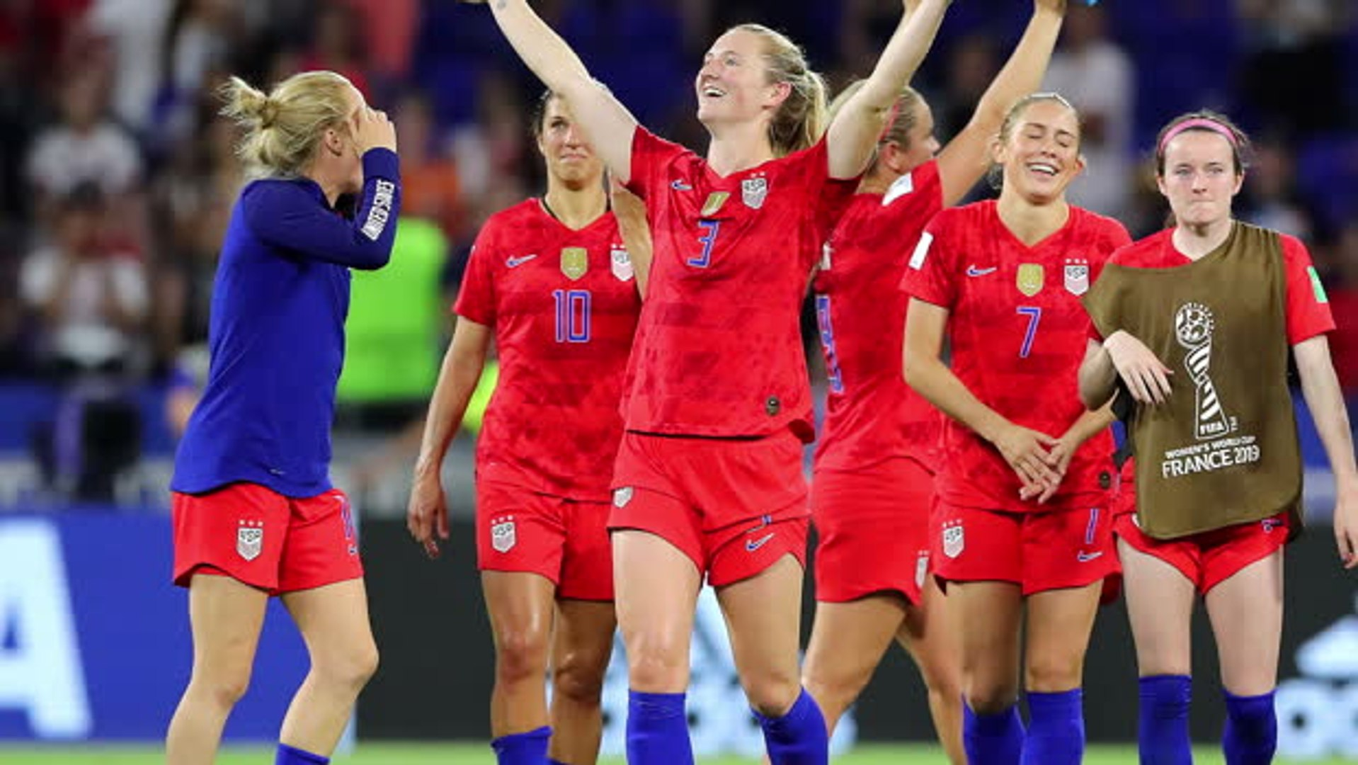 NFL players react to USA's win over England