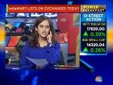 IndiaMART lists on exchanges today
