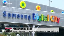 Samsung Electronics' Q2 earnings fall by more than fifty percent on weak memory chips