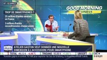 Atelier Gaston veut donner une nouvelle dimension à l'accessoire pou smartphone - 04/07