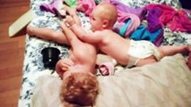 Funniest Siblings Baby Moments - Baby Funny Fails