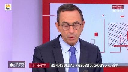 Bruno Retailleau - Public Sénat jeudi 4 juillet 2019