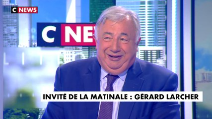 Gérard Larcher - CNews jeudi 4 juillet 2019