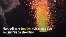 Italie : une puissante éruption du Stromboli fait une victime