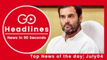Top News Headlines of the Hour (04 July, 12:30 PM)
