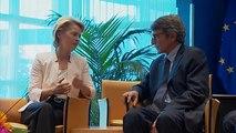 Les eurodéputés doivent entériner la nomination d'Ursula von der Leyen