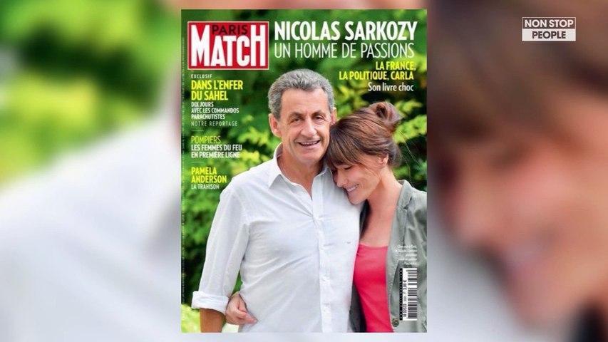 Nicolas Sarkozy Et Carla Bruni En Une De Paris Match Ce Detail Qui Amuse Les Internautes Video Dailymotion