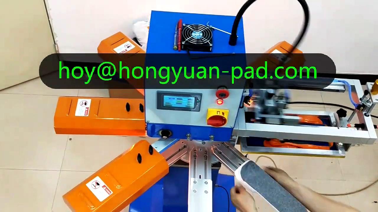 Non slip silicon socks Screen printing machine
