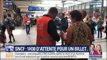 Les files d'attente sont de plus en plus interminables aux guichets SNCF