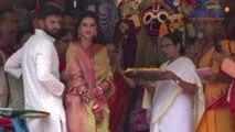 Nusrat Jahan, Mamata Banerjee offers prayer to Jagannath Rath Yatra | Oneindia News