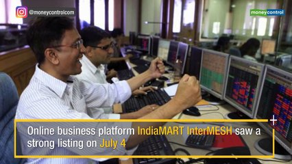 Strong Listing: IndiaMART InterMESH debuts at 21% premium at