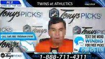 Twins vs Athletics MLB Pick 7/4/2019