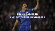 Frank Lampard's Chelsea career in numbers