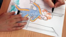 """Foot féminin et banlieue : comment dessiner """"Saison des roses"""", la leçon de dessin de Chloé Wary"""