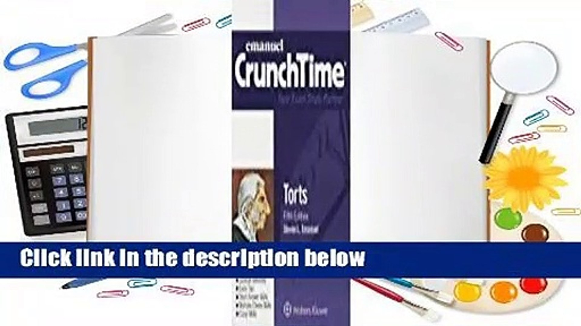 About For Books Torts (Emanuel CrunchTime) Complete