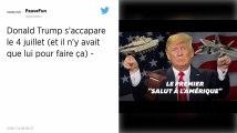 États-Unis : Donald Trump veut faire de la Fête nationale un show à sa gloire