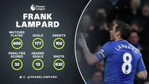 Feature: Lampard's Premier League career by numbers
