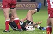 Un rugbyman se déboite le genou et... se le remet lui-même en place !