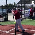 The baseball league that helps people with disabilities to improve their social skills