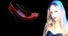 Güney Kıbrıs'ta kadın cinayetlerine 'kırmızı ayakkabılı' protesto