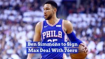 Ben Simmons Signs For The Max With Philadelphia 76ers