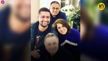 'Super charged' Rishi Kapoor and Neetu Kapoor meet Kapil Dev, root for India in World Cup